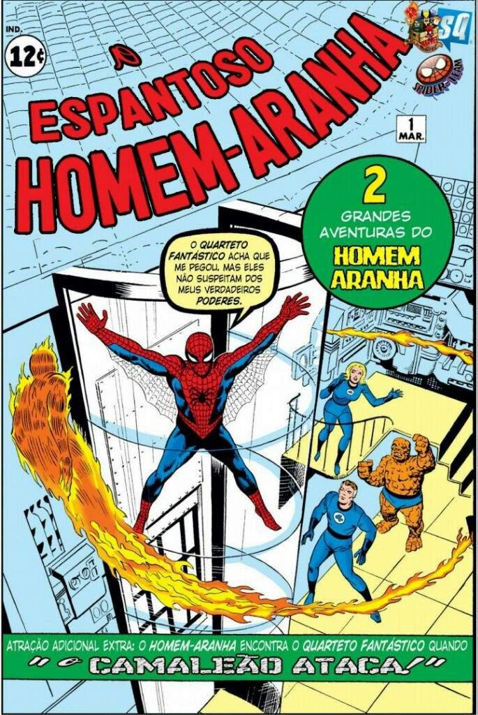 O Espantoso Homem-Aranha Torrent (1963) Dublado Download