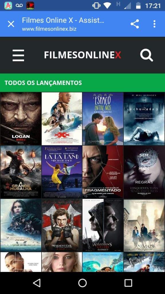 Filmes Onlinex