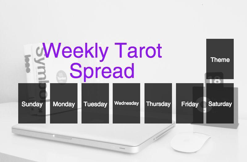 Weekly Tarot Layout | Pagans & Witches Amino