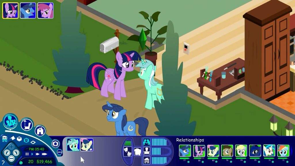my little pony in the sims episode 3 lyra and bon bon mlp of