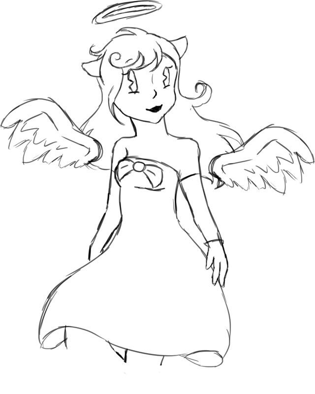 alice angel coloring pages | Alice Angel + - | Bendy and the Ink Machine Amino