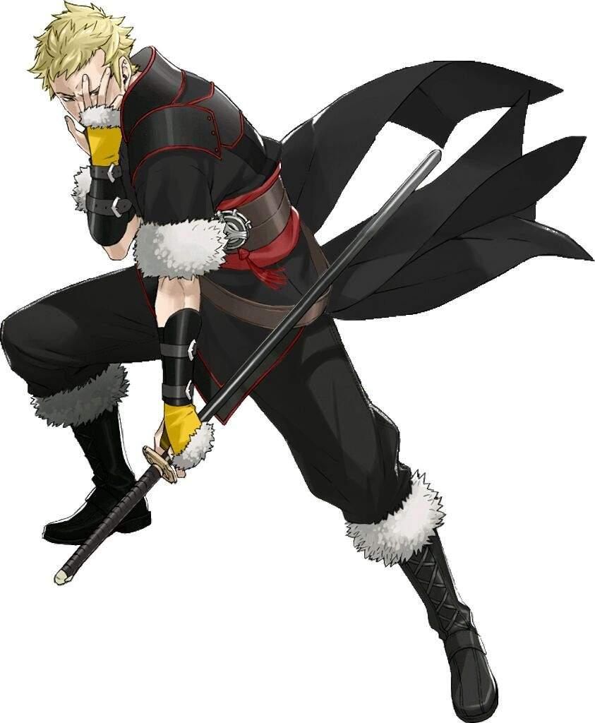 Character Fusion Owain Fe Awakening And Ryuji Sakamoto