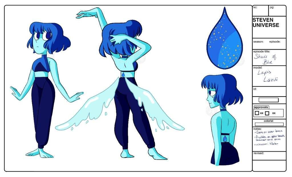 gemsona lapis lazuli steven universe amino