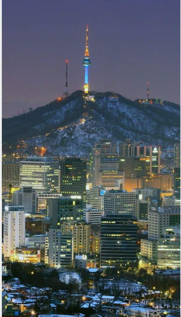 Seoul Iphone Wallpaper South Korea Amino