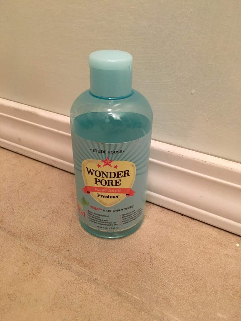 Skincare Review Toners Korean Beauty Amino Etude Wonder Pore Freshner 500 Ml Next The House 250 Here There Is Also A
