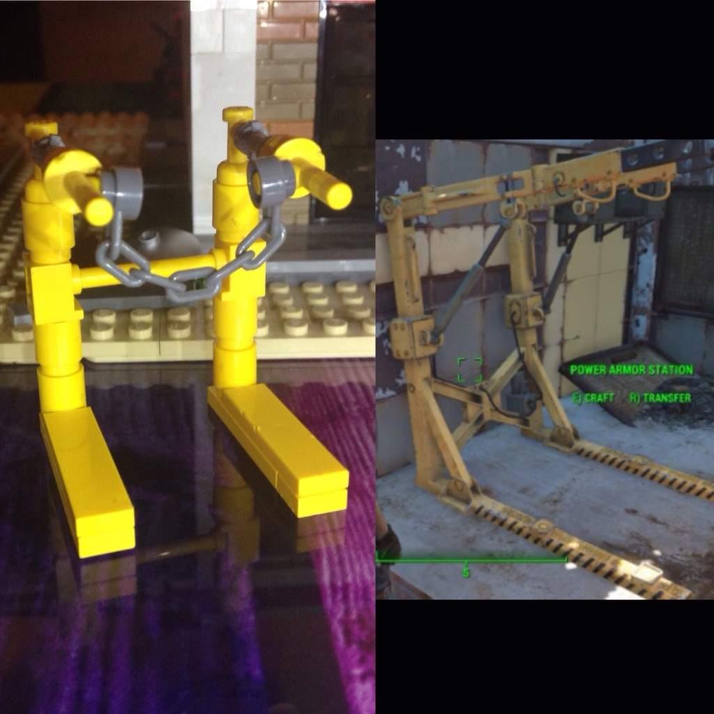 power armor nuka station