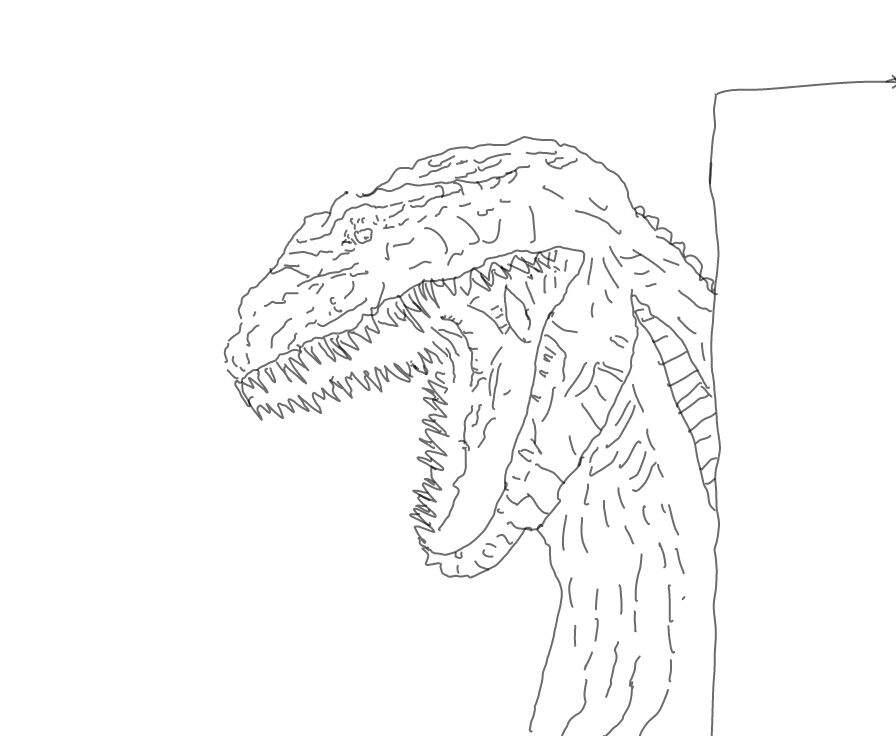 shin godzilla drawing