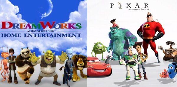 Dreamworks vs Pixar Comparison | Cartoon Amino