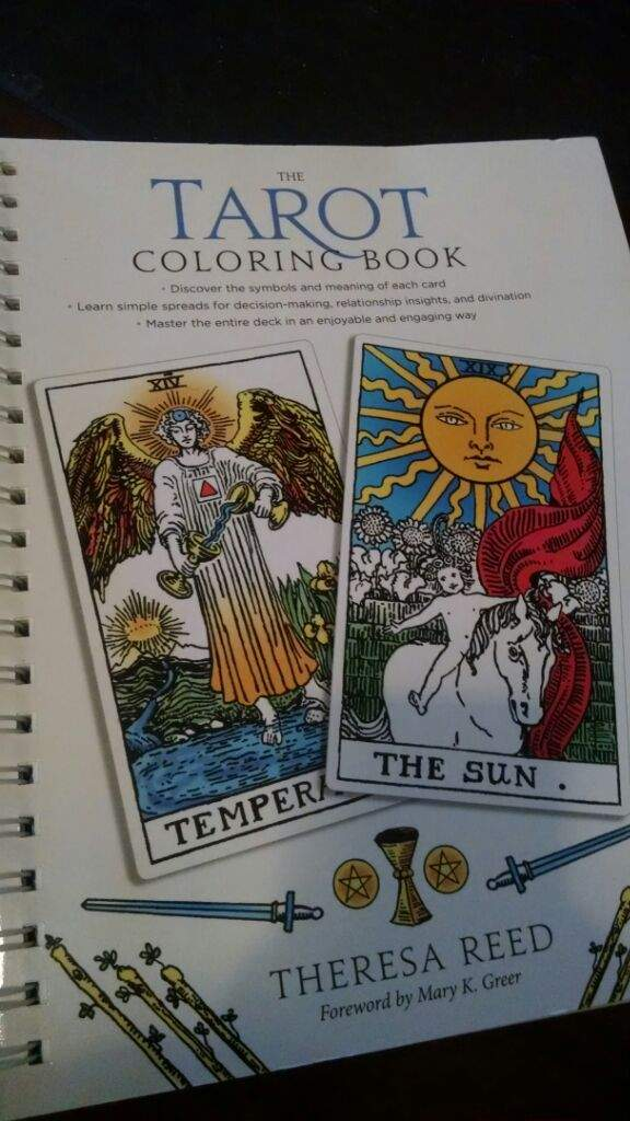 Has A Coloring Page For Each Tarot Card And An Adjacent With Information What Great Way To Learn About Cards Their Meanings