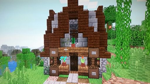 Minecraft Tutorial How To Build A Big Survival House Medieval