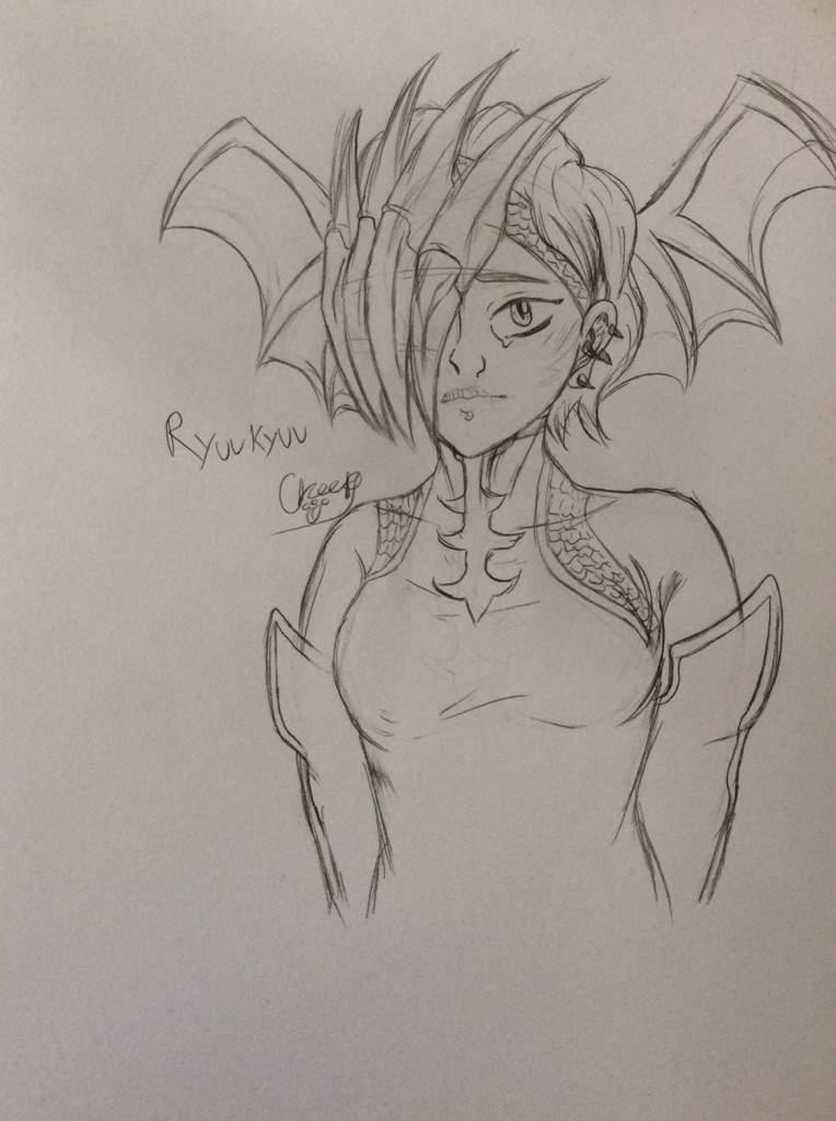 The Dragon Hero Ryukyu My Hero Academia Amino