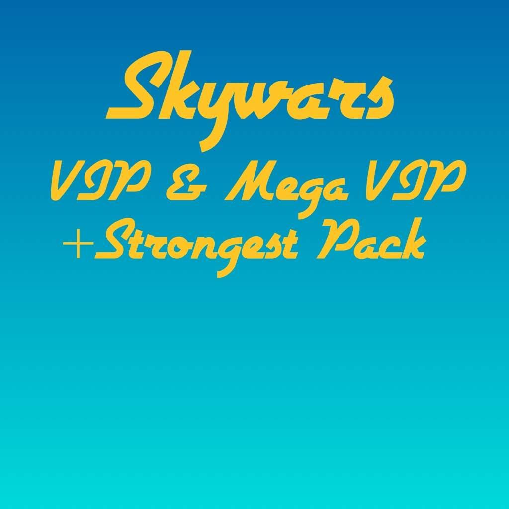 Roblox Skywars Vip Mega Vip Rooms Strongest Pack Roblox Amino