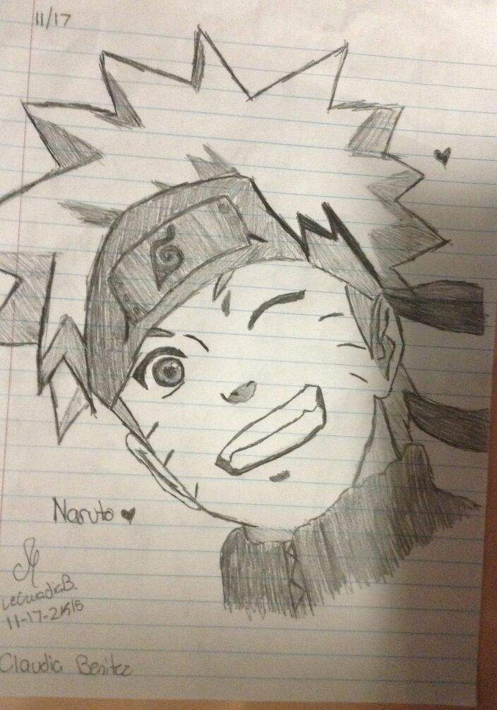 My Naruto Drawings Naruto Amino
