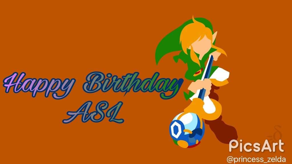 Happy Birthday Asl Zelda Amino