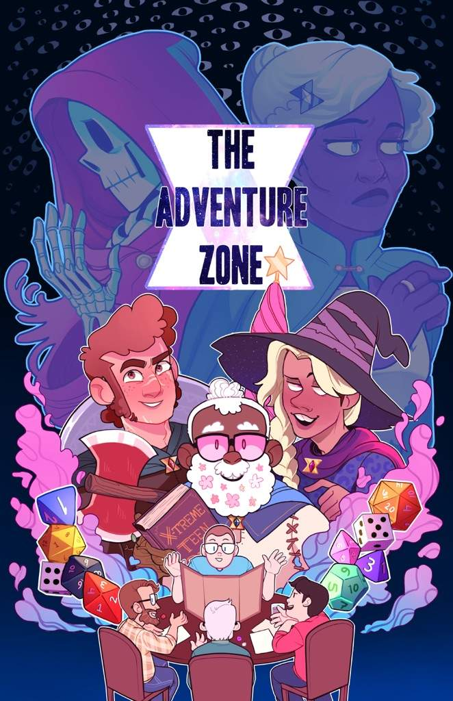 why the adventure zone should be animated cartoon amino