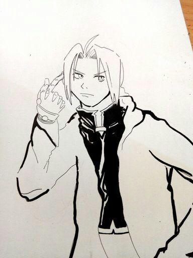 Fanart de Edward Elric | Fullmetal Alchemist | | •Anime• Amino