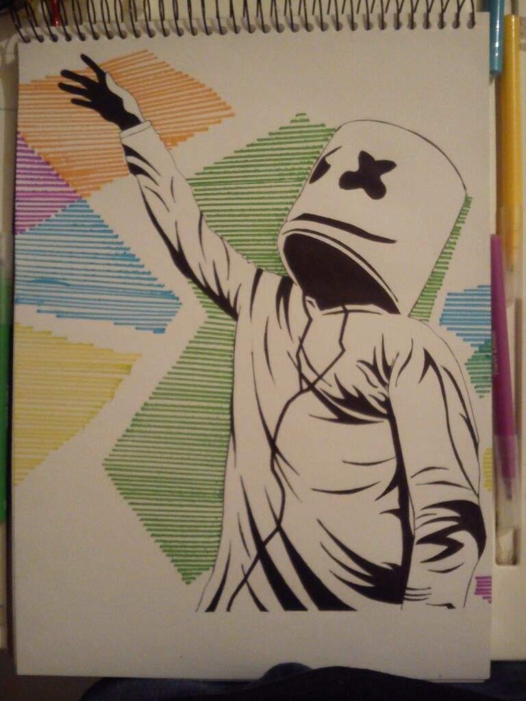 Dibujo De Marshmello Arte Amino Amino