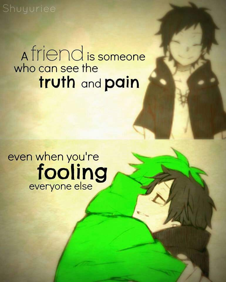 Anime QuotesFriendship Anime Amino Adorable Anime Quotes About Friendship