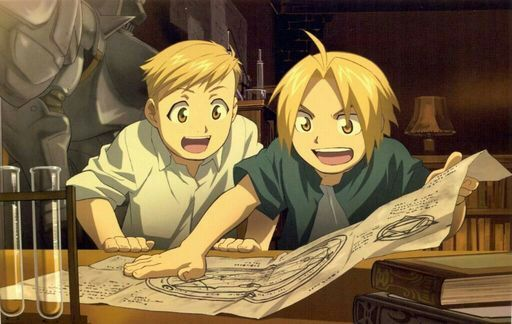 Image result for fullmetal alchemist edward and alphonse
