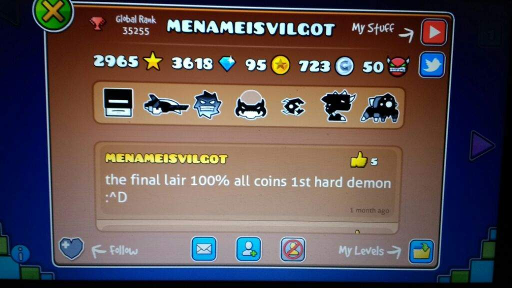 Geometry dash 21 back on track extreme demon - 1 8