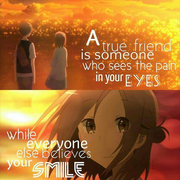 Anime QuotesFriendship Anime Amino Classy Anime Quotes About Friendship