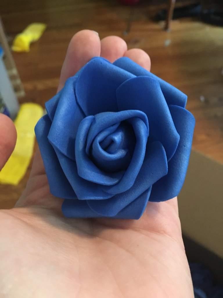 Viktors Blue Rose Flower Crown Cosplay Amino