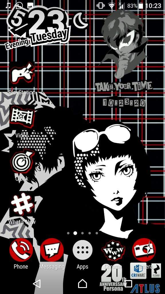 So I Just Made My Own Persona 5 Live Wallpaper