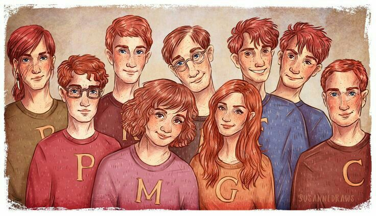 The weasley's family | Wiki | Harry Potter Amino