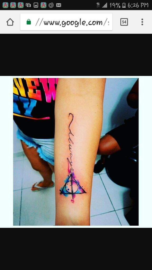 Really Cool Harry Potter Tattoo Harry Potter Amino
