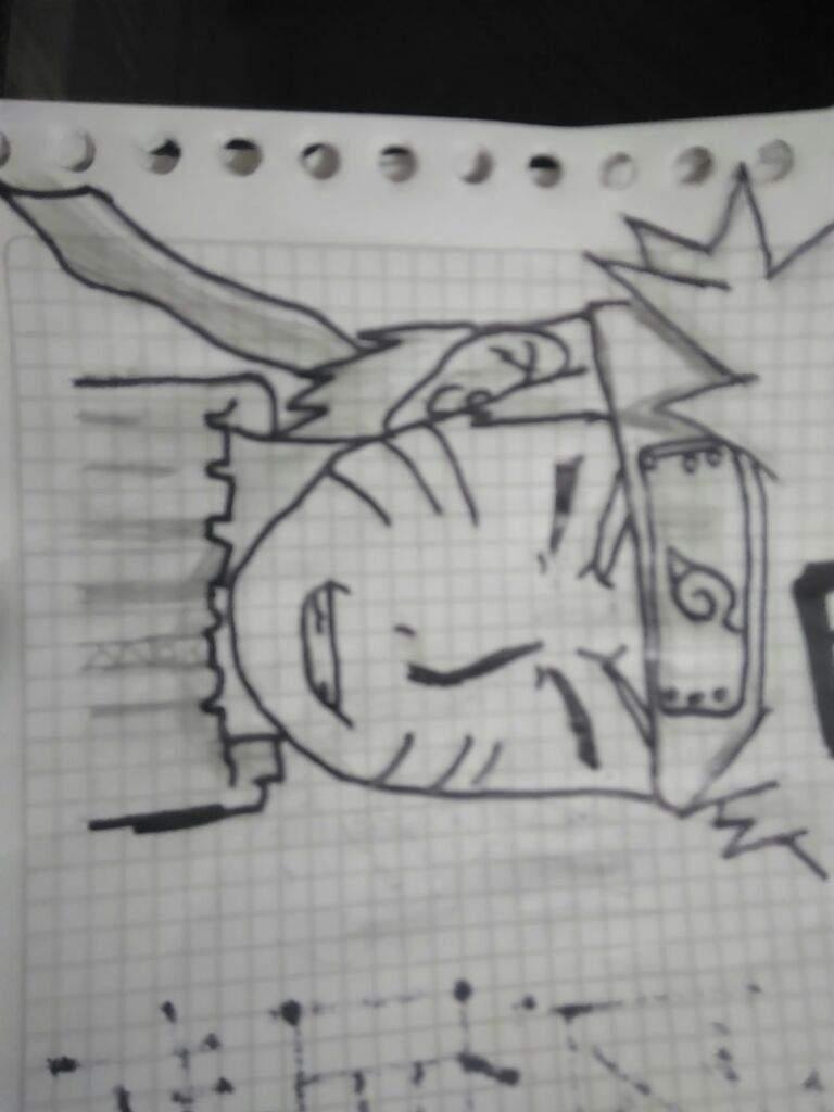 Dibujo rapido de naruto blanco y negro  Naruamino Amino