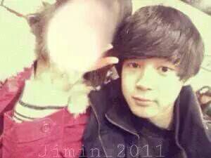 jimin and his girlfriend in 2011 army s amino