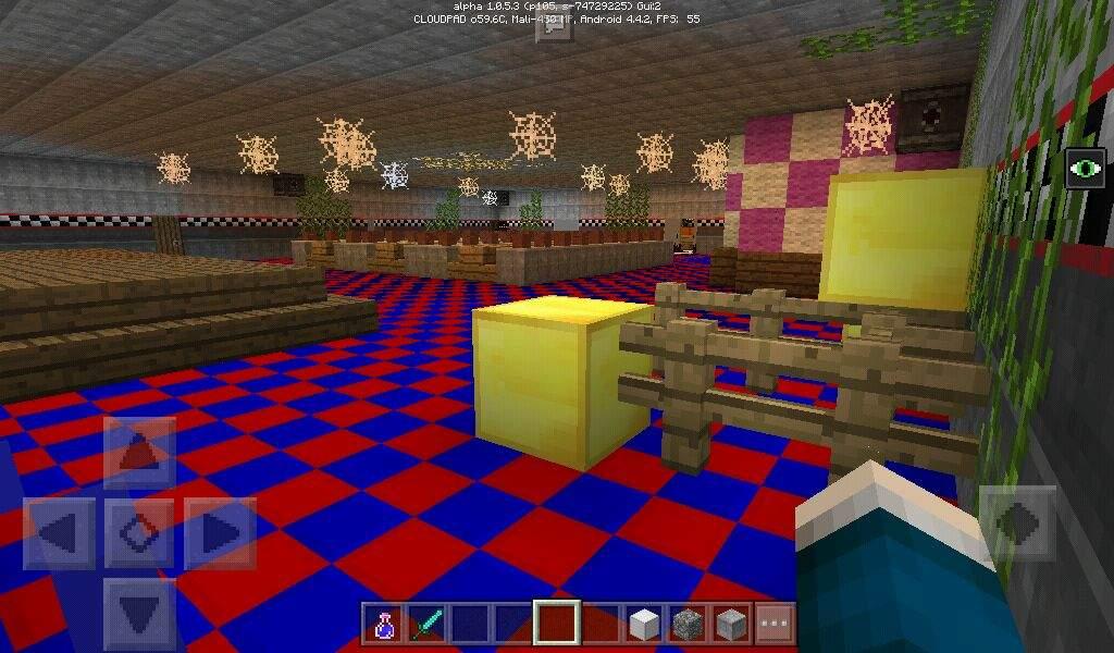 Fnaf 3 Office Minecraft