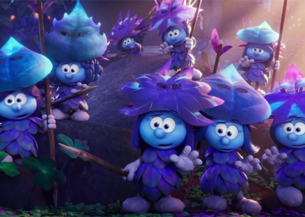 pinky reviews 12 smurfs the lost village cartoon amino