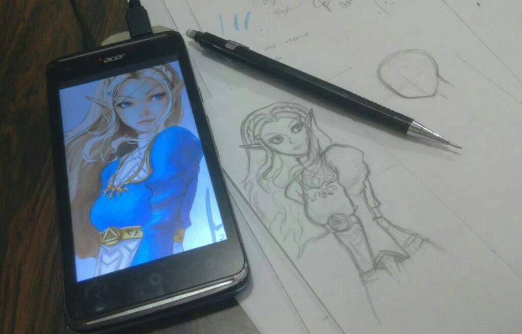 Proceso De Dibujo Separadores Botw Zelda Amino En Español Amino