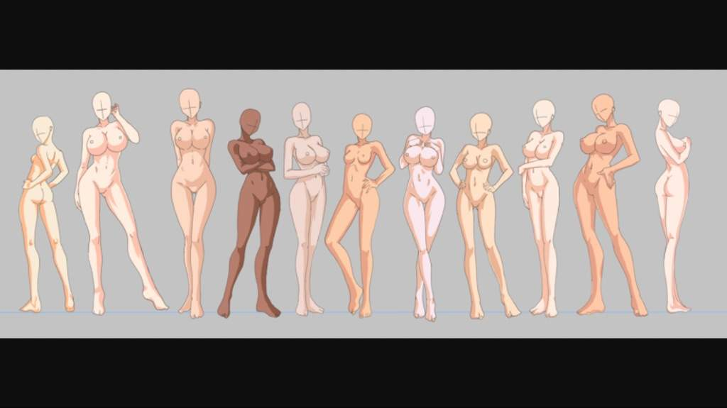 All bleach female characters naked