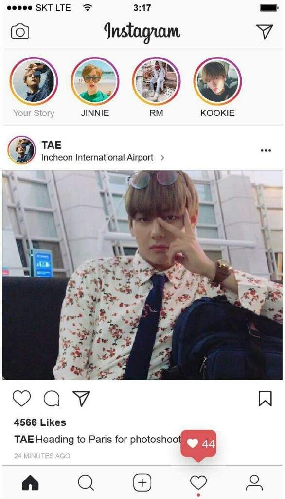 Bts Instagram Users Armys Amino