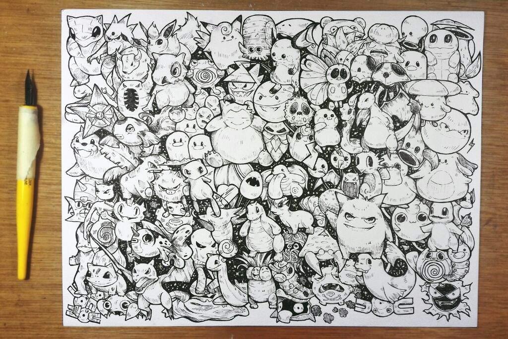 pokemon fan art full page doodle 2017 art amino