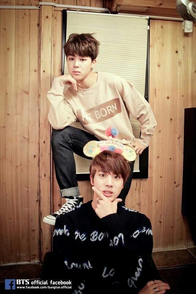 Jin and Jimin !! | ARMY's Amino