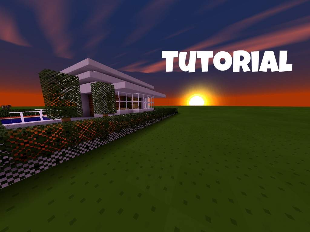 MODERN HOUSE TUTORiAL Minecraft Amino