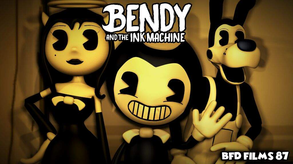 Wallpaper Bendy And The Ink Machine Bendy And The Ink