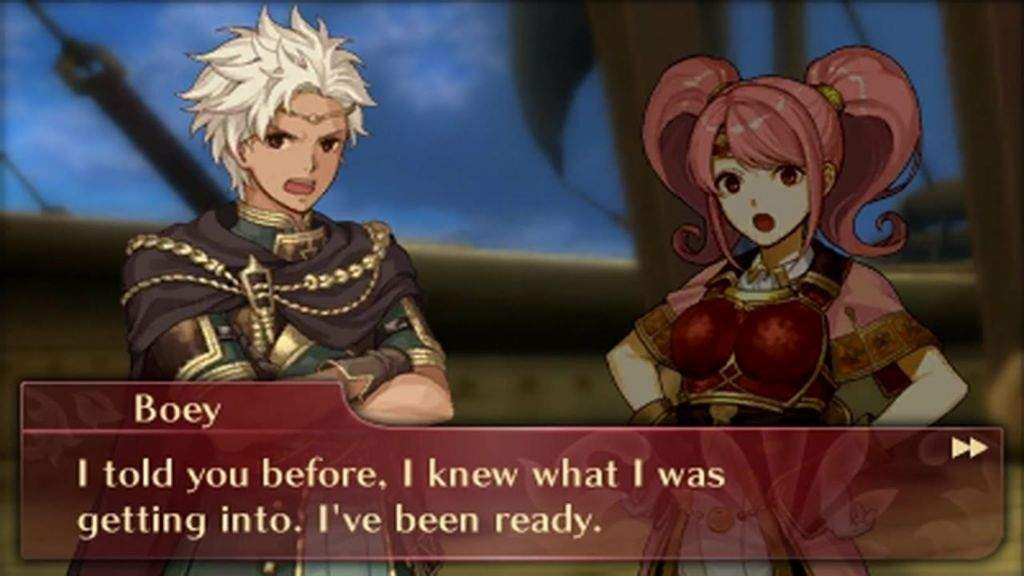 Why Boey is Better Than Mae: an Echoes Post | Fire Emblem Amino