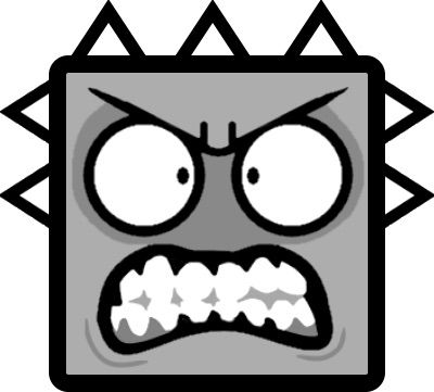 a lot of people think that the new 22 icons are too cartoony and this icon is a perfect example the icon is just cringeworthy and doesnt go well with - Geometry Dash Icon Coloring Pages