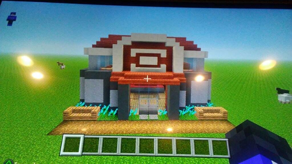 Pokemon Minecraft Building