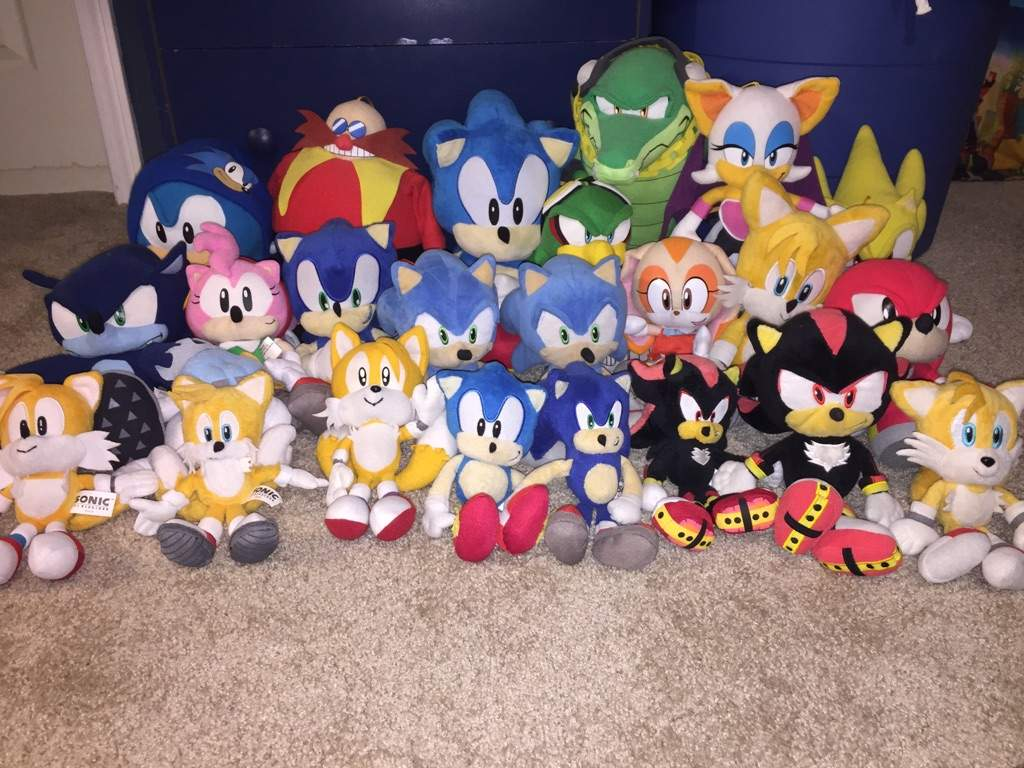 Target Sonic Toys : My sonic the hedgehog collection