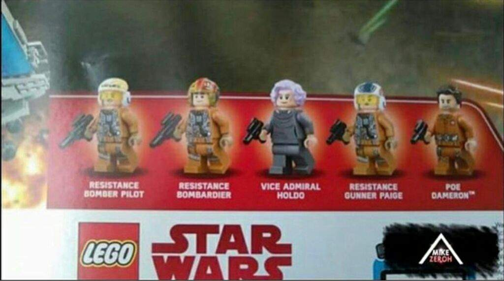 Lego Star Wars Resistance Bomber Pilot *NEW* from set 75188