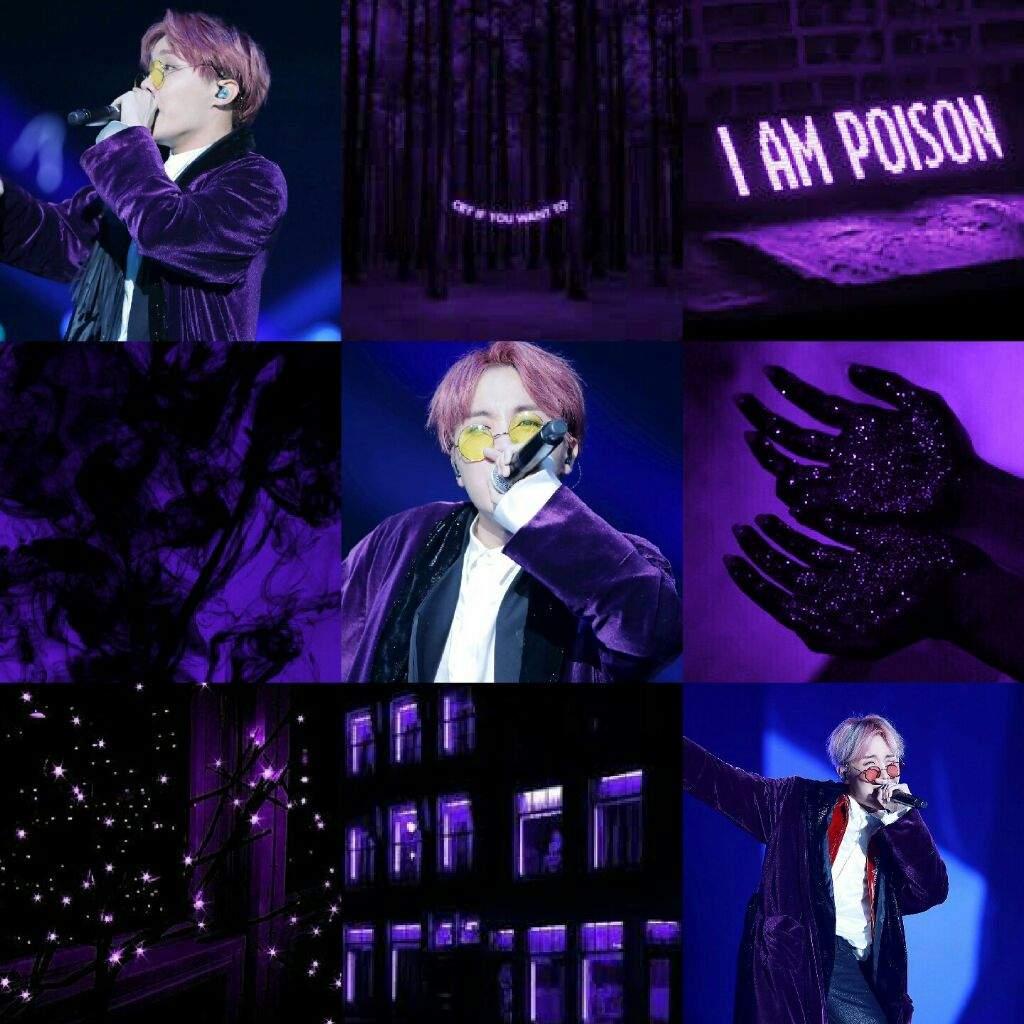 Aesthetic Holiday J Hope Dark Purple Aesthetic Bts Armys Moodboards Amino
