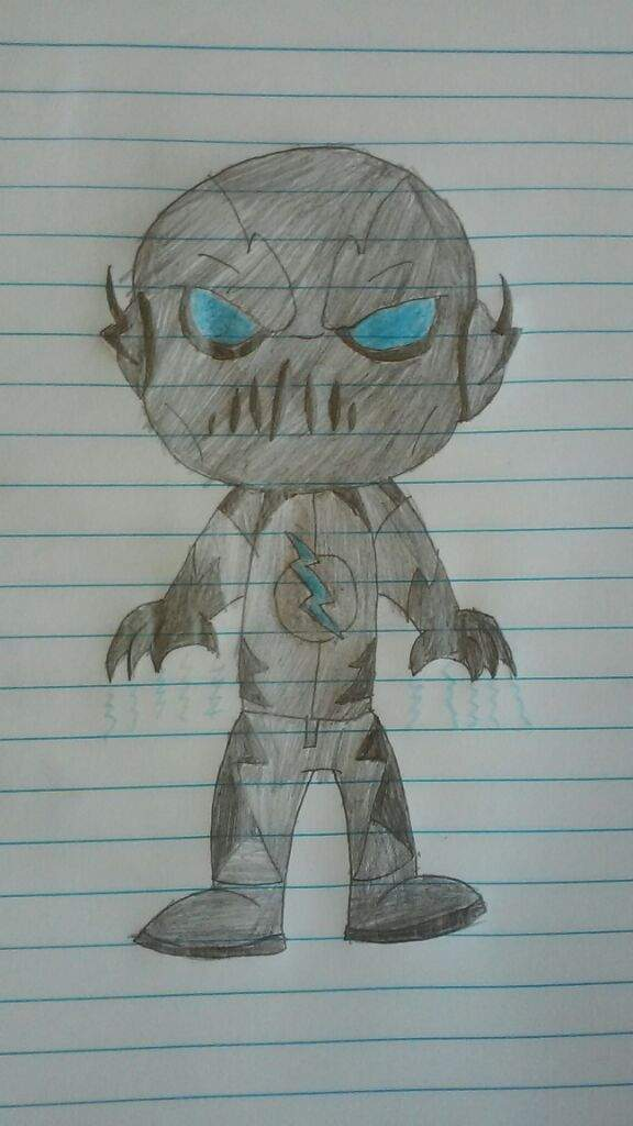 Zoom Drawing The Flash Amino