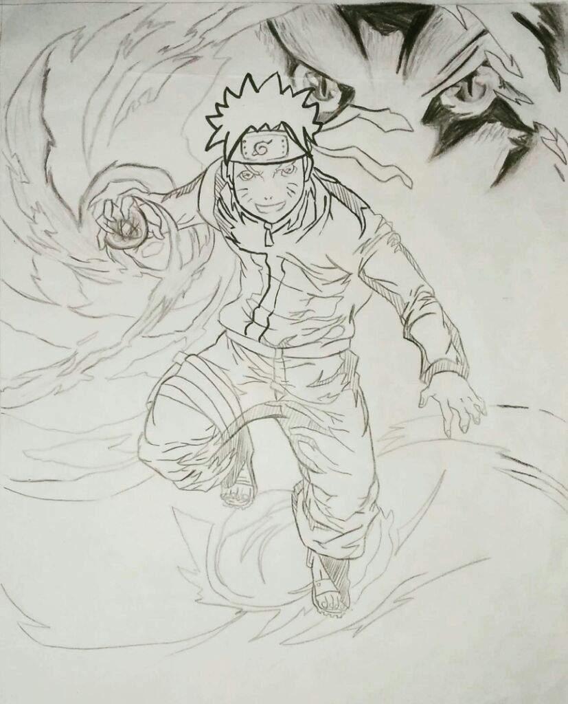 Naruto shippuden drawing