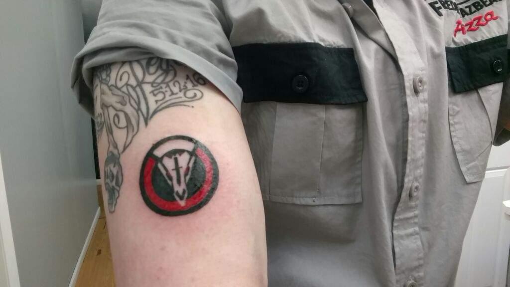 Blackwatch tattoo overwatch amino for Hanzo tattoo sleeve