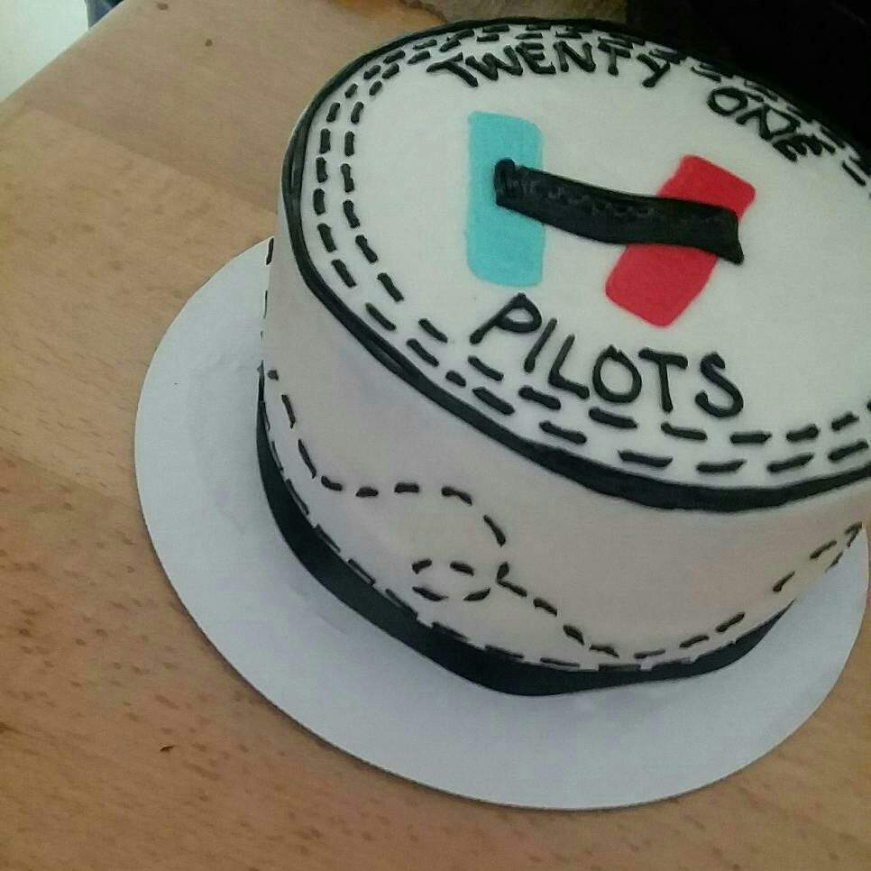 My Birthday Cake Is Awesome Emo Trinity Amino